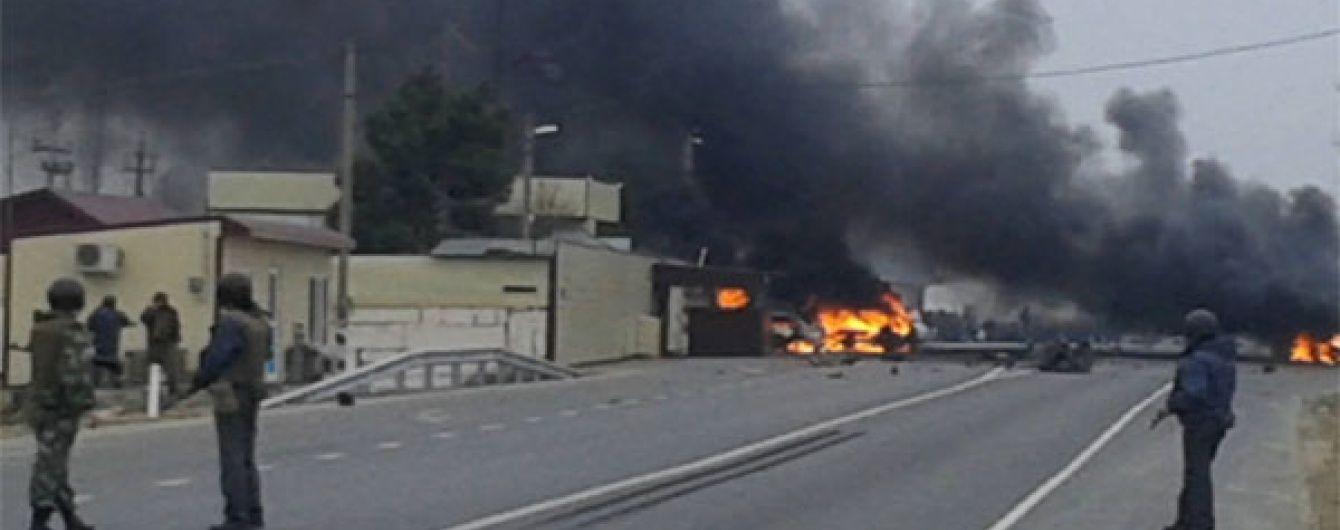 У Дагестані вибух біля поста ДАІ міг здійснити смертник