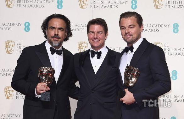 BAFTA-2016 ДіКапріо_1