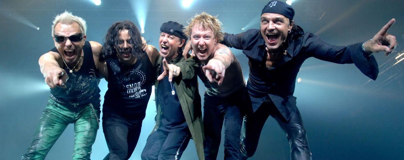 Легендарная группа Scorpions отыграла концерт в Киеве