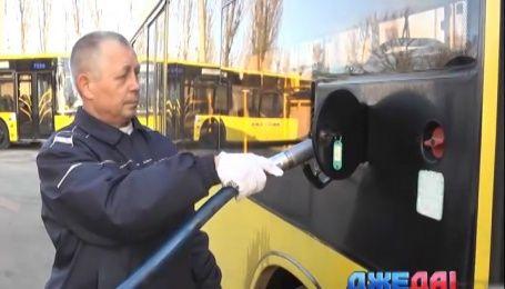 В Киеве появилась сверхсовременная заправка для столичных автобусов