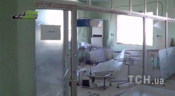Раненые дети и разрушенные здания. Появились фото обстрелянной Россией сирийской больницы