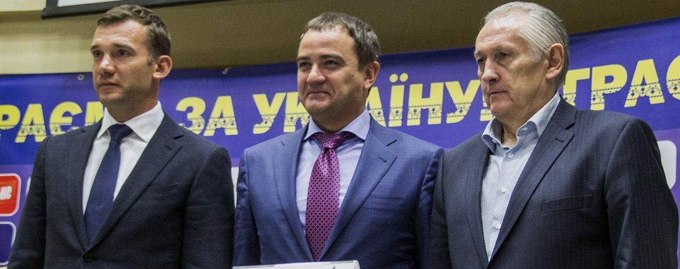 Шевченко офіційно став одним із тренерів збірної України