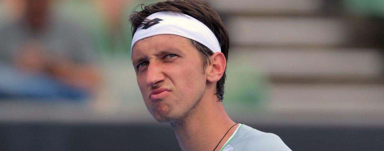 Український тенісист відмовився їхати на Олімпіаду-2016