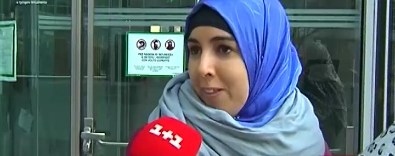 Держустанови в Мілані відмовляють жінкам у паранджі в допомозі
