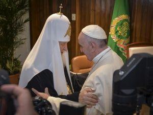 Патріарх і Папа: (Пере)Стрітення