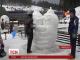 """На туристическом курорте """"Буковель"""" в четвертый раз состоялся фестиваль снежных скульптур"""