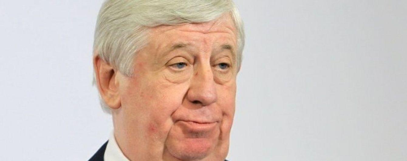В ГПУ не могут объяснить, подал ли Шокин в отставку