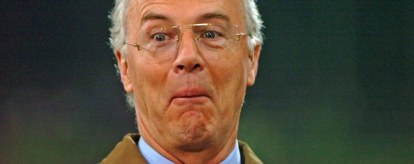ФІФА оштрафувала легендарного Беккенбауера за відмову співпрацювати зі слідством