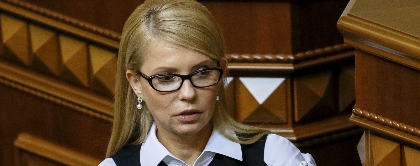 Тимошенко не зазіхає на крісло Яценюка
