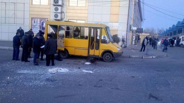 У Макіївці розлючений пасажир маршрутки жбурнув гранату в водія