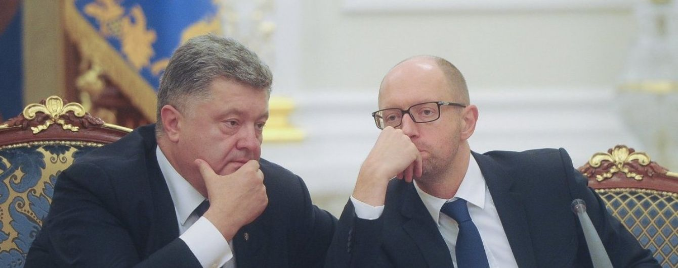 Порошенко сподівався, що Яценюк піде у відставку після його прохання