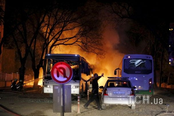 Жертвами потужного вибуху в центрі Анкари стали 18 осіб