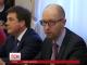 Яценюк називає політичну кризу штучно спровокованою