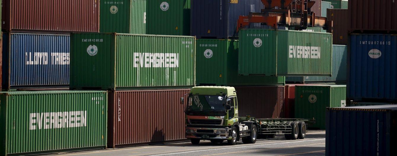 Частка українського експорту до Росії впала до 8,4%, а до ЄС зросла – 41,4%