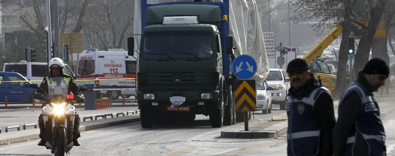 У Туреччині здійснений новий теракт на шляху військової колони