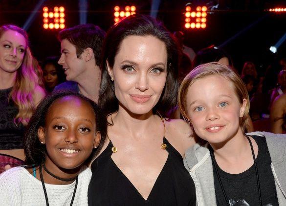 Анджеліна Джолі діти