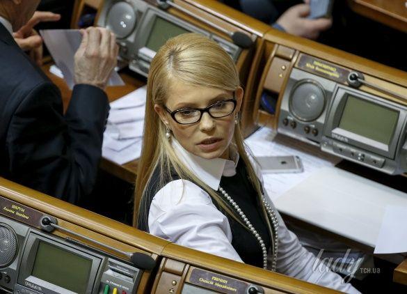 Юлия Тимошенко прическа