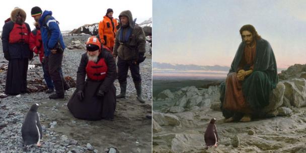 Відморожені скрепи. Кращі фотожаби із Кирилом та пінгвінами