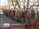 Військові вшановують пам'ять загиблих в Дебальцево