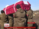 Сімох невпізнаних бійців АТО поховали сьогодні у Дніпропетровську на Алеї Героїв