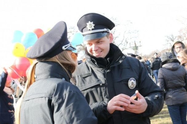 У Чернігові склала присягу патрульна поліція