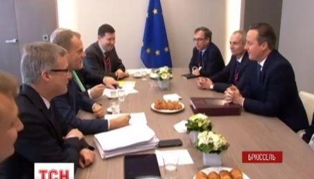 В Брюсселе европейские лидеры после бессонной ночи снова собираются за стол переговоров