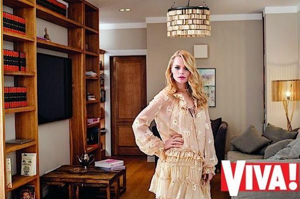 Вагітна Ольга Фреймут показала свою квартиру та підрослу доньку
