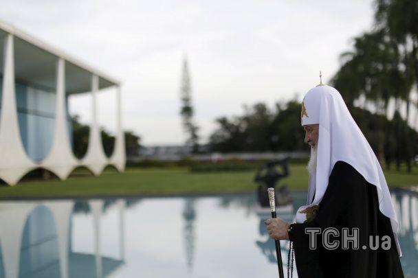 Патріарх Кирило різко змінив клімат та зустрівся з чарівною президенткою