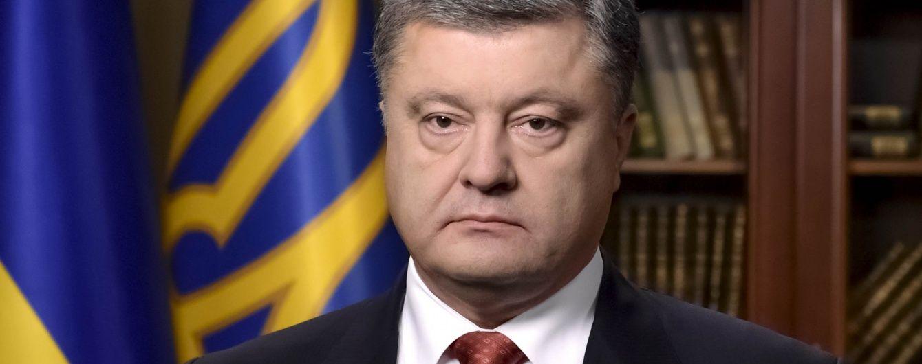 Порошенко вимагає проведення засідання РНБО щодо анексованого Криму