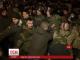 Надвечір на Майдані у діжках запалили багаття