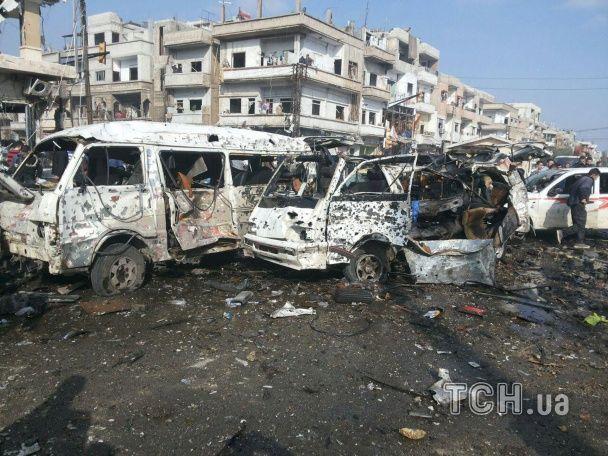 У Сирії прогриміли потужні вибухи: загинули кілька десятків мирних жителів