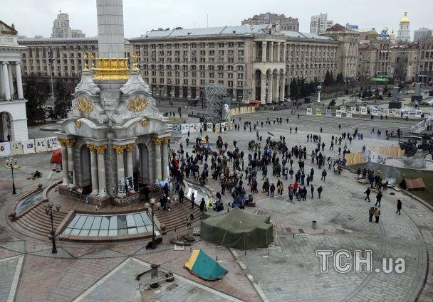 Радикальні протести на Майдані: захоплений готель, сім наметів і штовханина з Нацгвардією