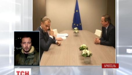 Як Євросоюз шукав варіанти компромісу з британцями в Брюсселі
