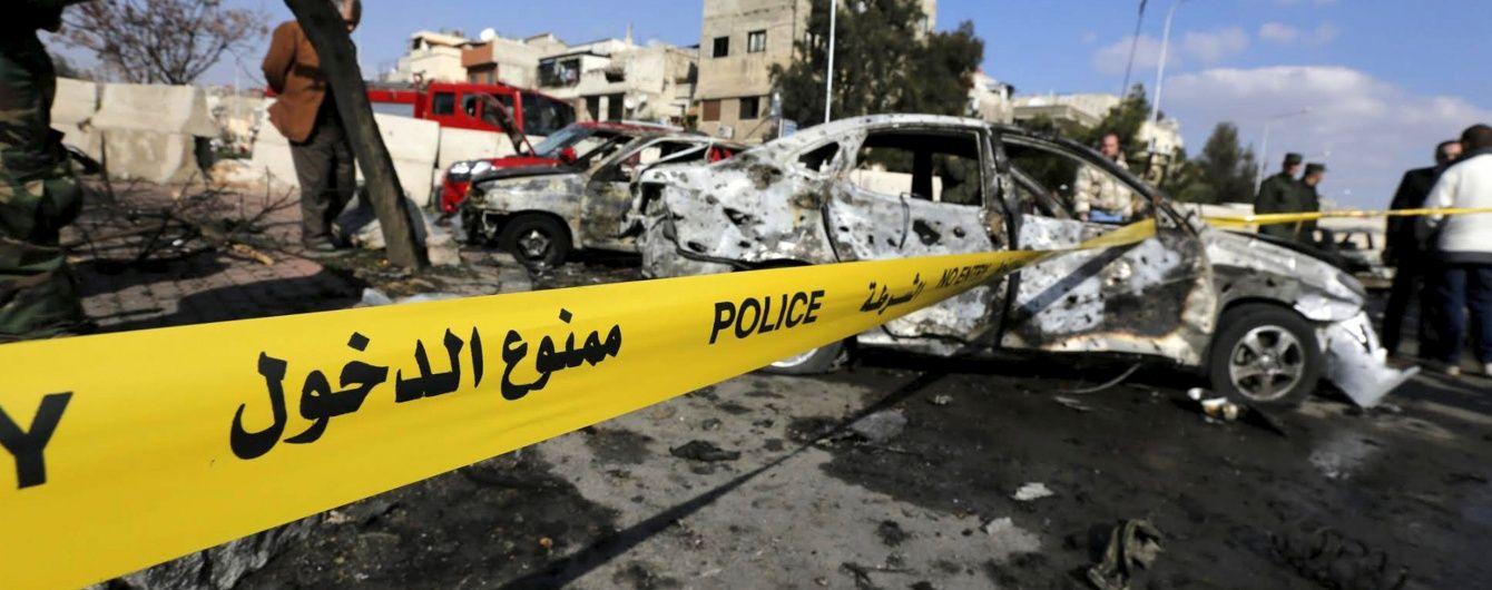 У Дамаску серія потужних вибухів забрала життя 30 людей