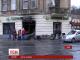 У Львові вночі горіли три відділення російських банків