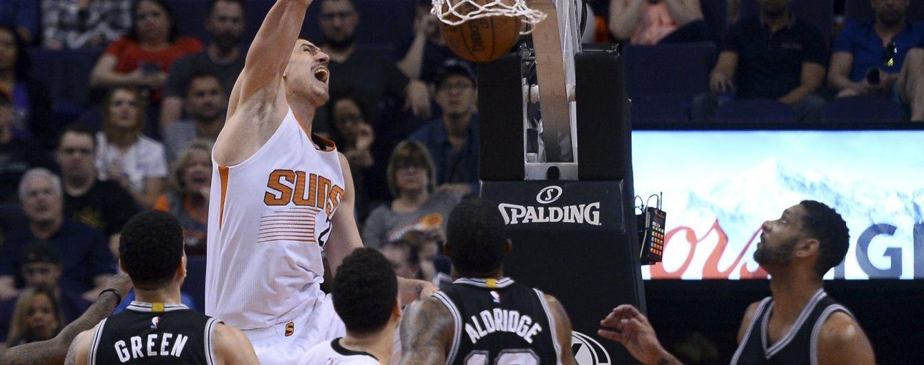 Український баскетболіст оновив власний рекорд за очками в НБА