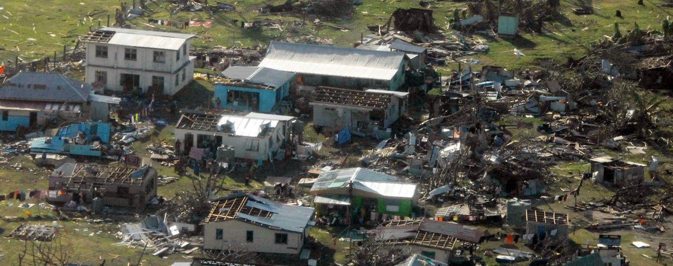 На Фіджі зросла кількість жертв урагану