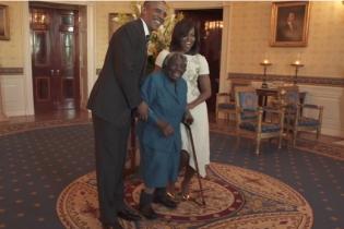 У Білому домі 106-річна бабуся пішла в танець разом із Бараком Обамою