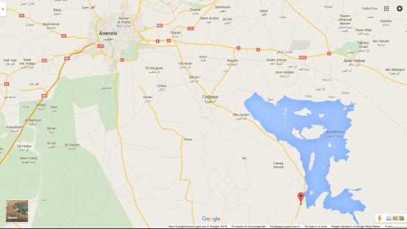 карта Алеппо наступ бойовиків