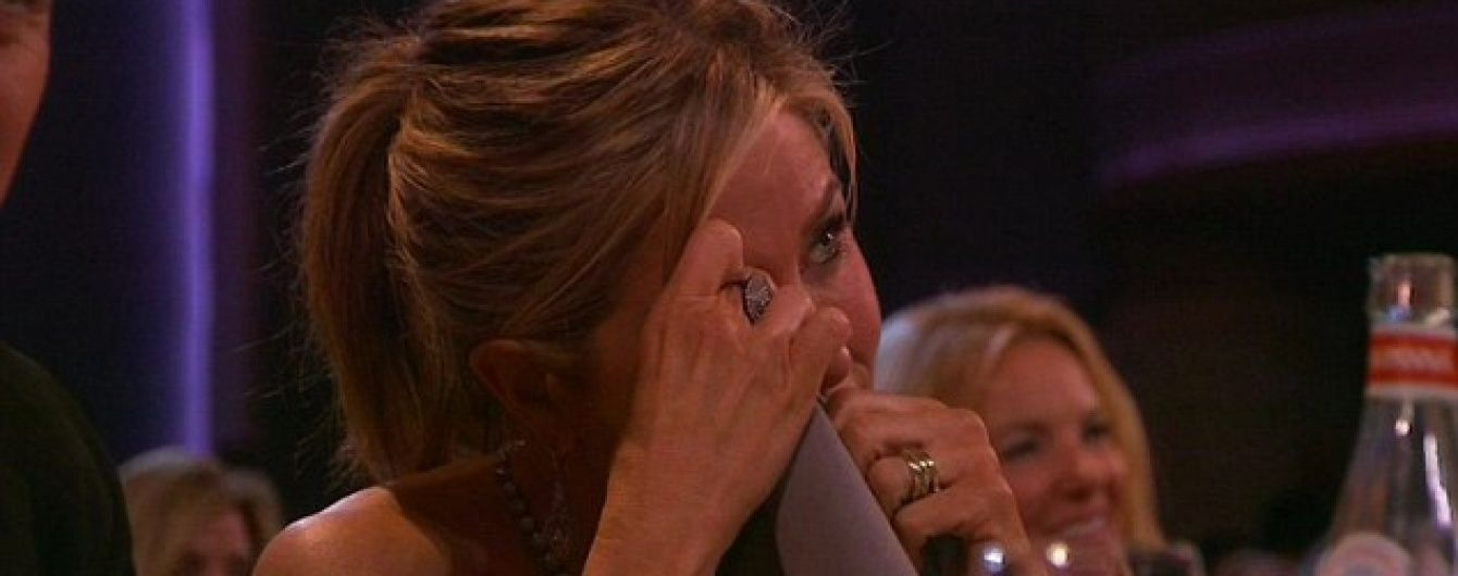 """Дженніфер Еністон розплакалася на возз'єднанні """"Друзів"""""""