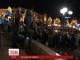 На Майдані Незалежності залишився один намет і невелика група людей