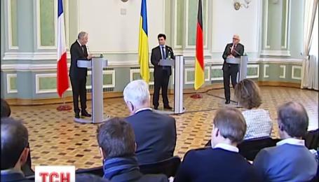 Міністри закордонних справ Німеччини та Франції наполягають на забезпеченні перемир'я