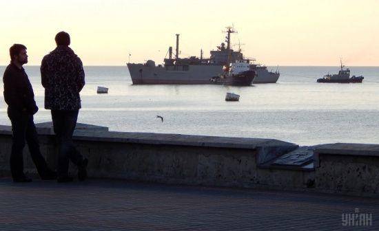 Росія активізувала діяльність кораблів прикордонників та ВМФ РФ в Азовському морі
