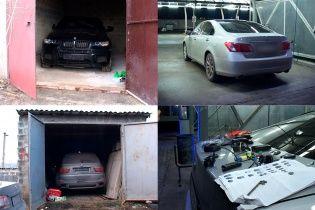 BMW, Lexus та Honda. Поліція упіймала викрадачів дорогих іномарок
