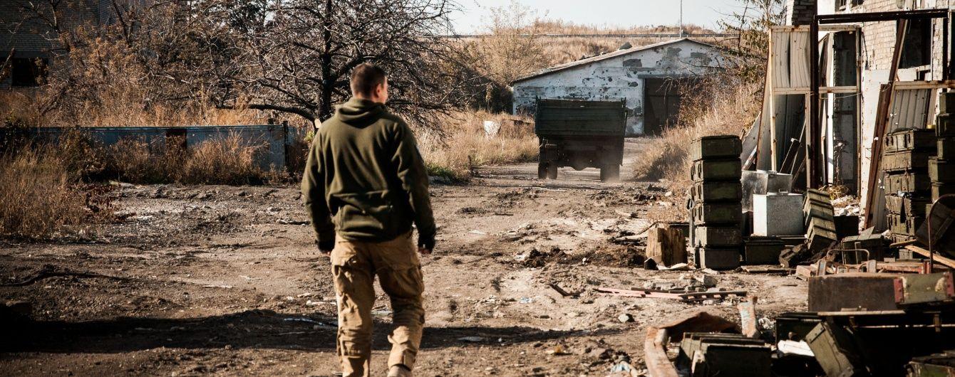 Бойовики зруйнували опорний пункт української армії під Донецьком