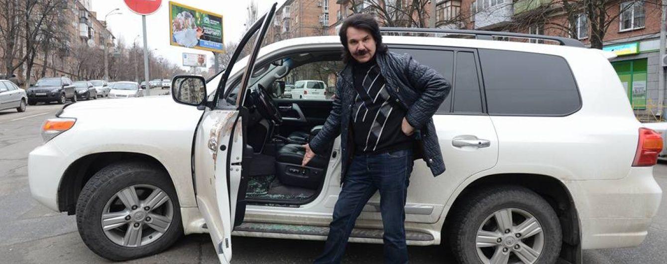 Пограбованому Зіброву повернули сумку з піснями