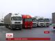 Сьогодні опівночі поновиться транзит вантажівок з Росії територією України
