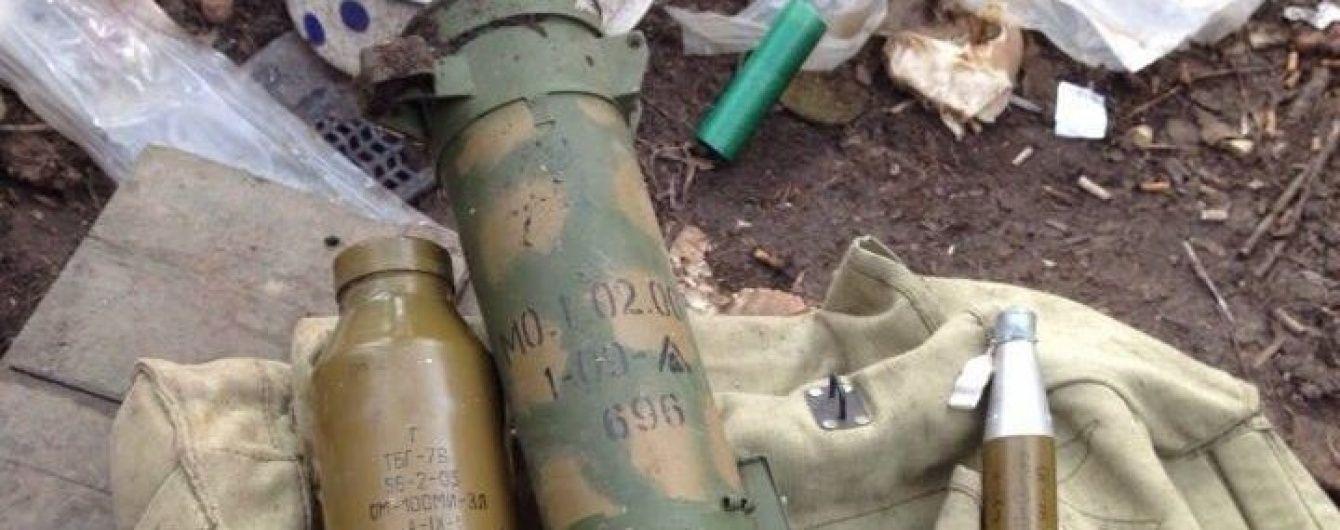 Біля Зайцевого сили АТО відбили потужну атаку бойовиків та виявили російську зброю