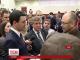 На засіданні Київради блокують трибуну через вибори до районних рад