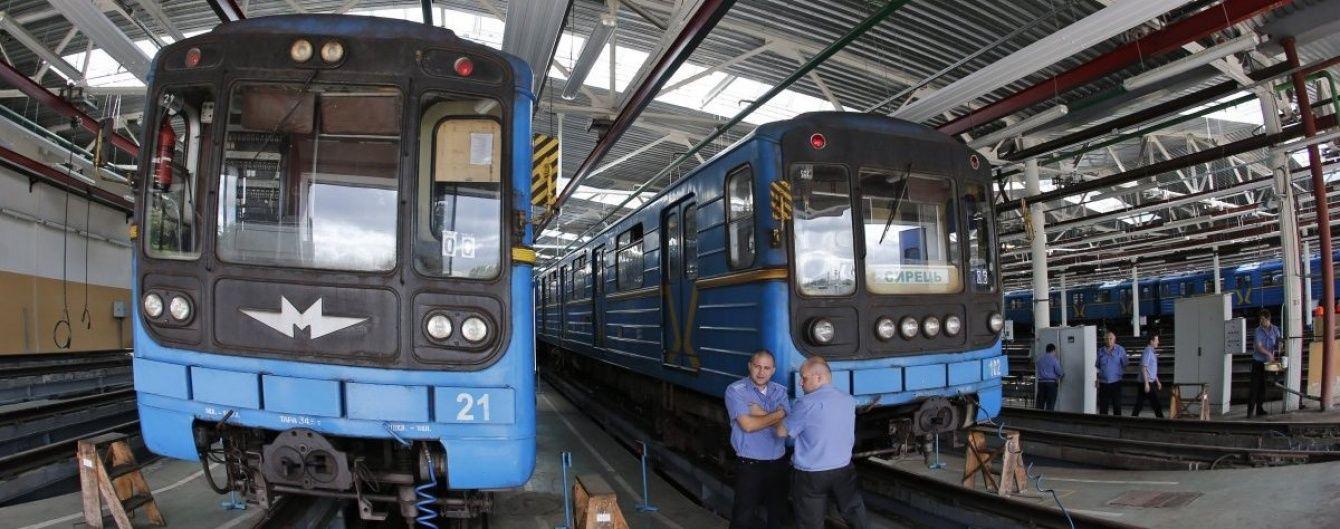 У Мережі з'явилося відео депо київського метро з висоти пташиного польоту